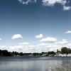 Bassin Rond Lake Where Canal De LEscaut And Canal De La Sensee Meet