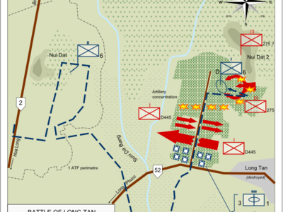 Battle Of  Long  Tan  1 8  August  1 9 6 6