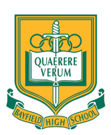 Bayfield High School Crest