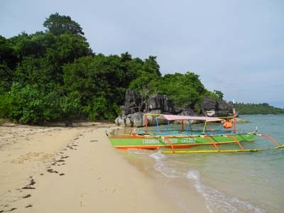 Bagieng Island Boat