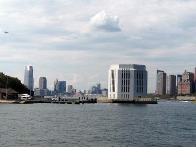 Governors Island With Brooklyn Battery Tunnel