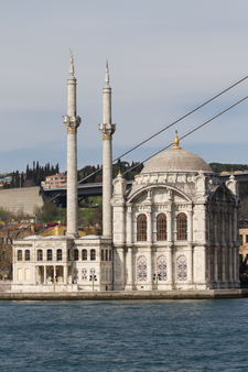 Another View Of Ortaköy Mosque