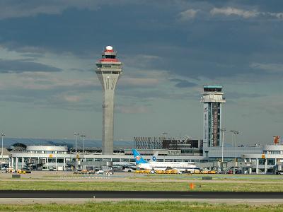 Ground View Of Terminals 1