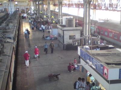Mumbai Central From The Bridge