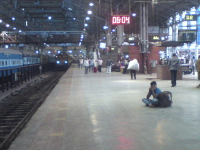 Mumbai Central Station Inside View
