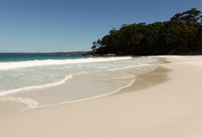 Beach At Jervis Bay