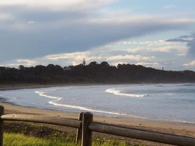 Beach Of  Woolgoolga