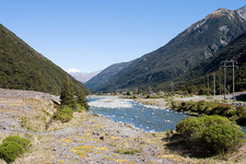 Bealey River Through Arthur Pass