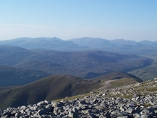 The Cairngorms From Beinn A Ghlo