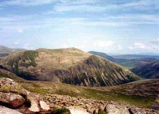 Beinn Mheadhoin From Summit Of Derry Cairngorm