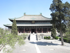 The Dening Hall Of The Beiyue Temple