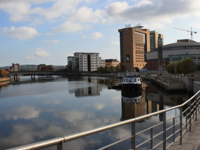 River Lagan And Lanyon Place
