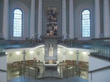 Interior With Altar And Lower Church