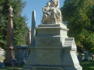 Bethell   Foster  Monument At  Fairmount  Cemetery