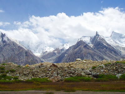 Biafo Glacier In Gilgit Baltistan
