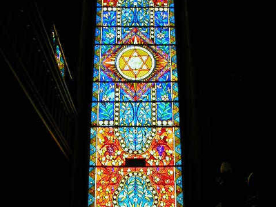 Newly Restored Stained Glass Window