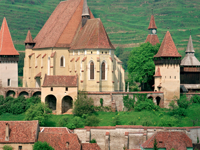 Biertan And Its Fortified Church