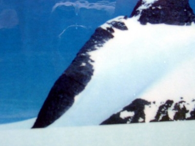 Summit Seen From Bohr Glacier