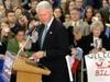 Bill Clinton Speaking At Henry Memorial Center