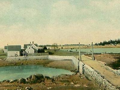 Birch Point And Burnt Island Thoroughfare C. 1908