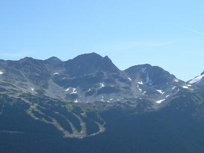 Blackcomb, With The 7th Heaven Ski Run