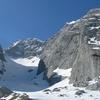 The Blaueis Glacier In Spring