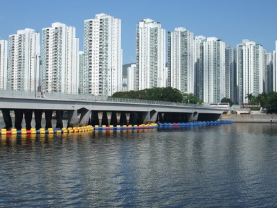 Block Of  Shing  Mun  River