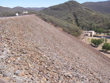 Blowering Dam Wall