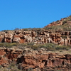 Rock Structure At The Southern End Of Wilpena Pound.