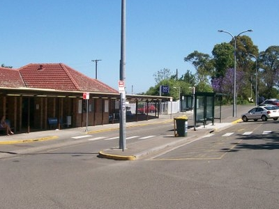 Bomaderry Railway Station Bus Bays
