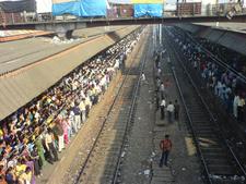 Borivali Station During Peak Hours
