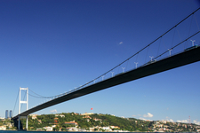 Another View Of The Bosphorus Bridge