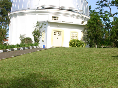 View Of Bosscha Observatory