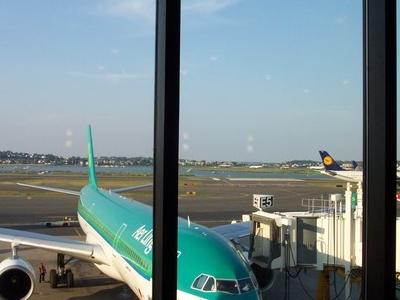 Boston  Logan  Airport From  Terminal  E