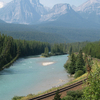 Bow River Banff Np