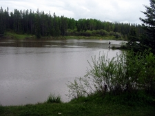 Bow River Seen From Edworthy Park