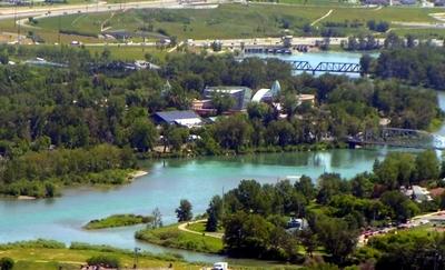 Calgary Zoo On St. George's Island