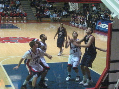 Penn Playing At The Palestra