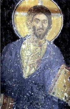 Pantocrator A Fresco From 1259