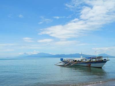 Boat Arrive At Port