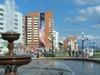 Fountain On Sovetskaya Street In Bratsk