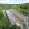 The Spillway Of The Brazeau Dam