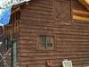 Horse Barn Under Restoration