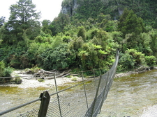 Swingbridge Across Gunner River