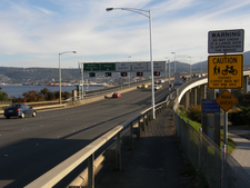 Entering The Bridge From The Eastern Shore