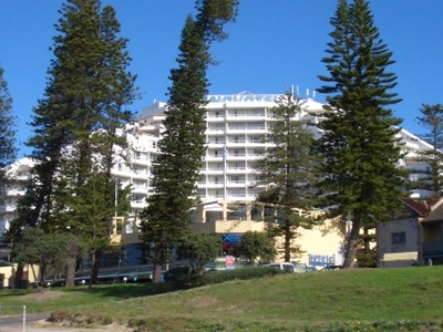 Lady Robinsons Beach, Novotel Hotel