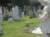Cemetery Tombstone Sculpture