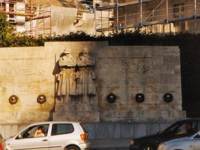 British War Memorial In Brussels