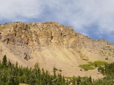 Broken Northeast Face Of Brokeoff Mountain
