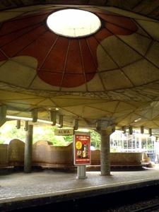Brussels Alma Platform
